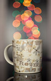 Mug with effects Royalty Free Stock Images
