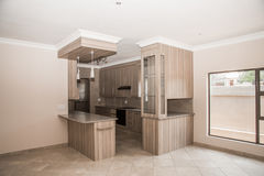 Kitchen of Newly Build House. Stock Photos