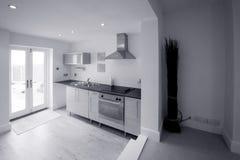 Kitchen in newly restored rebu Stock Photography