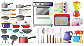 Free Kitchen Objects Stock Photography - 51702072