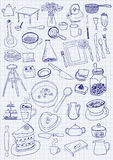 Kitchen objects Royalty Free Stock Photos