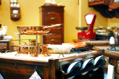 Kitchen in the old style Stock Photography