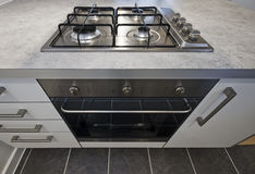 Kitchen oven Royalty Free Stock Image