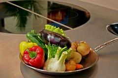 Kitchen oven Stock Photo