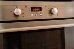 Kitchen oven Stock Images