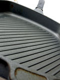 Kitchen pan for grill Royalty Free Stock Photo