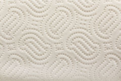 Kitchen Paper Towel Texture as Background Stock Photo
