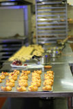 Kitchen pastry. Bread pastry and bakery kitchen Royalty Free Stock Photos