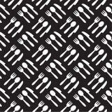 Kitchen pattern royalty free illustration