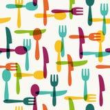 Kitchen pattern Stock Image