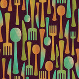Kitchen pattern Stock Photo