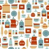 Kitchen pattern stock illustration