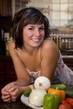 Kitchen portrait Royalty Free Stock Photos