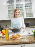 On kitchen Stock Photography