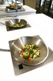 Kitchen prepare table Royalty Free Stock Photos