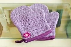 Kitchen protective glove Stock Photo