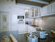 Kitchen provence style Stock Photography