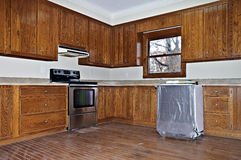 A Kitchen Remodel royalty free stock photos