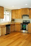 A Kitchen Remodel. A small kitchen that was remodeled Stock Photos