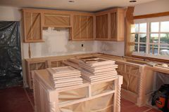 Free Kitchen Remodel In A Southern California Home Royalty Free Stock Images - 142506239