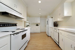 Kitchen in remodeled home Royalty Free Stock Photography