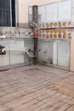 Kitchen Renovation Stock Photo