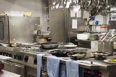 Kitchen restaurant Stock Image