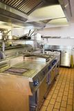 Kitchen in the restaurant Royalty Free Stock Photography
