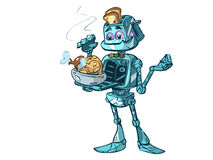 Kitchen robot Royalty Free Stock Images