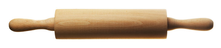 Kitchen rolling pin Royalty Free Stock Image