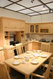 Kitchen and roof Stock Photography