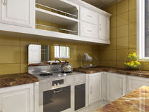 Kitchen room Stock Images