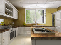 Kitchen room Stock Photography