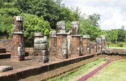 Kitchen ruins in the Sun temple complex, Konark Stock Images