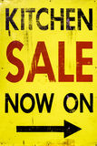 Kitchen Sale Royalty Free Stock Images