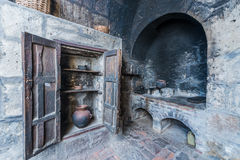 Kitchen in Santa Catalina monastery Arequipa Peru Royalty Free Stock Images