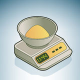 Kitchen Scale Stock Images