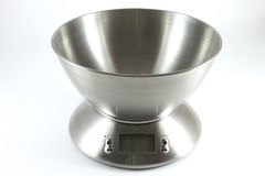 Kitchen scale Royalty Free Stock Images