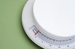 Kitchen Scale Royalty Free Stock Photography