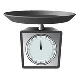 Kitchen scale Royalty Free Stock Photos