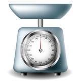 Kitchen scale Stock Photo
