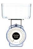 Kitchen scale. Stock Photo