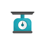 Kitchen scale balance. Icon vector illustration graphic design Royalty Free Stock Photography