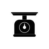 Kitchen scale balance Stock Images