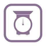 Kitchen scales icon Royalty Free Stock Image