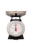 Kitchen Scales Isolated On White Stock Photo