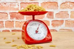 Kitchen Scales Stock Images