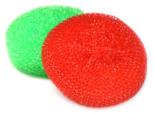 Kitchen Scrubber Royalty Free Stock Image