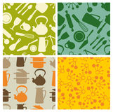 Kitchen - seamless pattern Royalty Free Stock Images