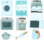 Kitchen set Royalty Free Stock Photography